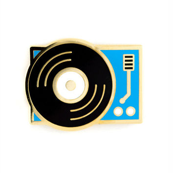 Record Player Pin