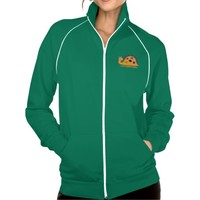 Cute and colorful dinosaur activewear jacket