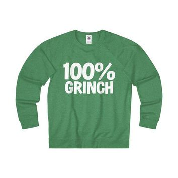 DCCKN3P 100% Grinch Christmas Sweatshirt