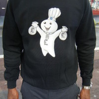 Lo Key — Phillsbury Doughboy Money Bags Sweatshirt