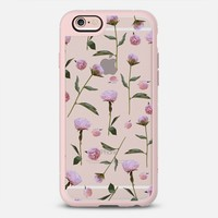 Peonies (transparent) iPhone 6s case by Lisa Argyropoulos | Casetify