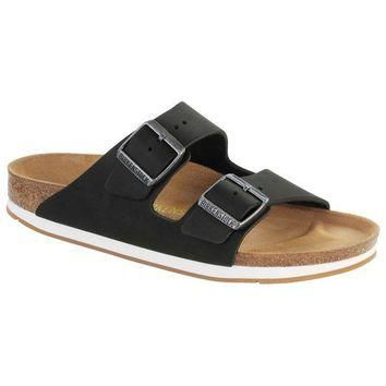 Sale Birkenstock Arizona Oiled Leather Black 57691 Sandals
