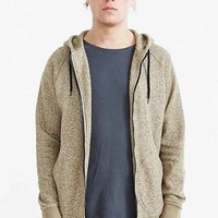 BDG Marled Zip Hooded Sweatshirt-