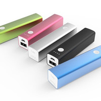 3200mah Vinsic Solid Aluminum Portable Charger Battery