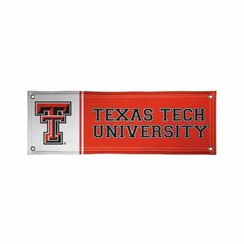 Texas Tech Red Raiders NCAA Vinyl Banner (2ft x 6ft)