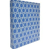 "1"" Paper Board Susy Jack Circles Binder 8.5x11"