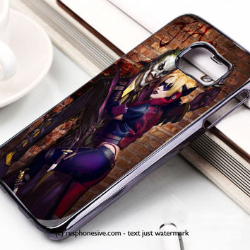 Harley Quinn With Joker Samsung Galaxy S6 and S6 Edge Case