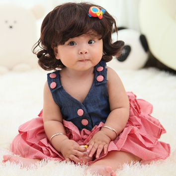 Vest With Pink Dress