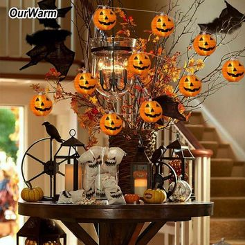 OurWarm Halloween Decorations Haunted House Props Lace Table Cover Fireplace Mantel Scarf Hanging Ghost Halloween Party Supplies