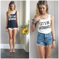 A Let's Be Mermaids Tank