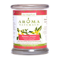 100% Natural Soy Essential Oil Candle - Romance (Jasmine & Ylang Ylang) 260g/8.8oz