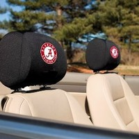 NCAA Alabama Crimson Tide Headrest Covers, Set of 2