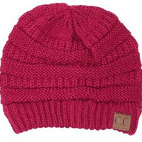 Baby It's Cold Beanie- Pink