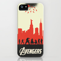The Avengers variant iPhone & iPod Case by Bill Pyle