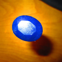 "Field Priced 30 Carat Sri Lanka Blue Corrundum ""Blue Sapphire"" Oval Cut Calibrated Faceted 100% Natural Gemstone"