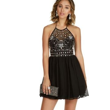 Danni-Black Homecoming Dress