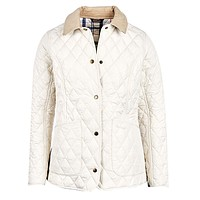Spring Annandale Quilted Jacket in Pearl by Barbour - FINAL SALE