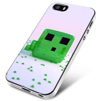Minecraft Game Green Candy iPhone 5 | 5S | 5SE Case Planetscase.com