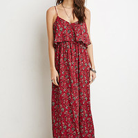Floral Flounce Cami Dress