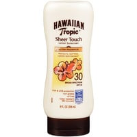 Hawaiian Tropic Sunscreen Sheer Touch Broad Spectrum Sun Care Sunscreen Lotion - SPF 30, 8 Ounce