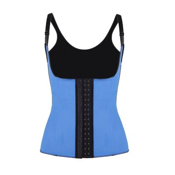Latex Strap Workout Waist Cincher Corset L7587-4