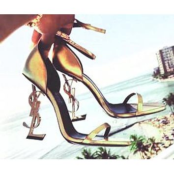 YSL 2019 new ultra high heel sexy shaped with sandals high heels 15#