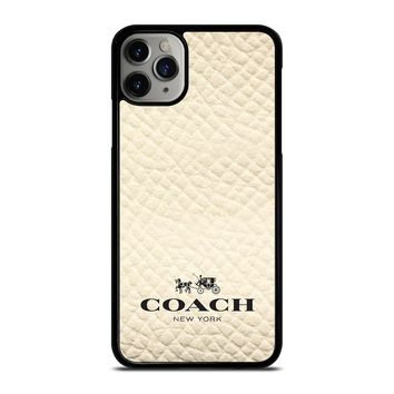 COACH NEW YORK WHITE iPhone Case Cover