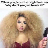 """Curly hair problems"""