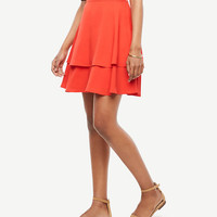Tiered Full Skirt | Ann Taylor