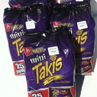 Mini Takis Fuego 125 Bags (1.2 Oz Each)