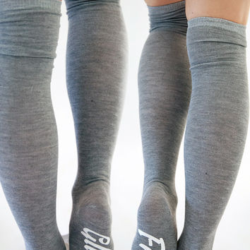 Jolly Jive Gluten Free Socks in Gray