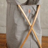 Magus Tall Cross-Fold Laundry Basket