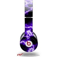 Electrify Purple Decal Style Skin (fits genuine Beats Solo HD Headphones - HEADPHONES NOT INCLUDED):Amazon:Electronics