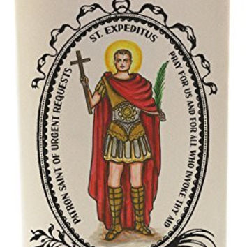 St Expeditus for Urgent Requests 20 oz Soy Scented Prayer Candle