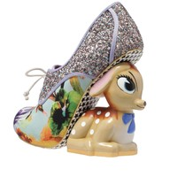 Irregular Choice 'Fawn', blue floral