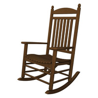 Bedford Rocker, Brown, Outdoor Rocking Chairs