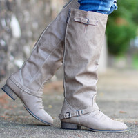 Outlaw Riding Boots {Beige}