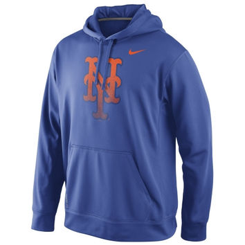 New York Mets Nike Logo Performance Hoodie – Royal Blue