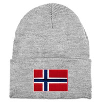 Norway MyCountry Solid Knit Hat (Sport Gray)
