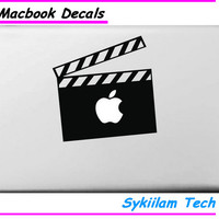 Action Moive for Apple Logo Vinyl Sticker for Macbook Skin Air 11 13 Pro 13 15 17 Retina Laptop Computer Wall Unique Decal