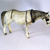 Vintage Toy Breyer Horse, Work Horse with Blinkers, Classic Series, Collectible