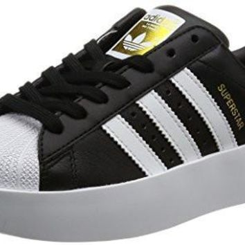 Adidas Womens Superstar Bold Leather Trainers