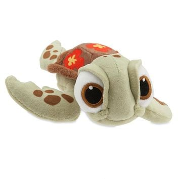 "Licensed cool Finding Dory 7 1/2"" SQUIRT TURTLE Plush Bean Bag Toy Doll Disney Store 2016 Nemo"