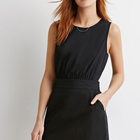 Two-Pocket Sheath Dress