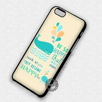 The Whale Quotes - iPhone 7 Plus 6 5 4 Cases & Covers