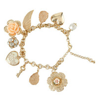 Love You Charm Bracelet | Shop Accessories at Wet Seal