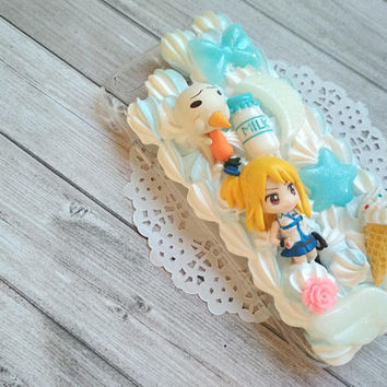 Fairy tail decoden case for Iphone 6/6s, Lucy Heartfilia & Plue (sale)