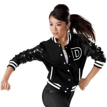Sequin Varsity Dance Jacket - Balera
