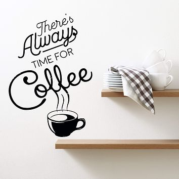 Wall Decal Coffee Drink Cup Kitchen Cafe Vinyl Sticker (ed927)