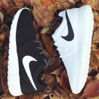 """NIKE"" Fashion Women Running Sport Casual Shoes Sneakers Black White"